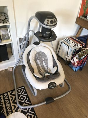 Greco DuetSoothe Swing + Rocker for Sale in Portland, OR
