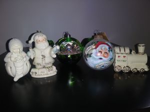 Christmas tree ornaments for Sale in Fayetteville, NC