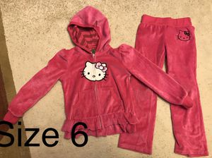 Hello kitty set size 6 for Sale in Schaumburg, IL