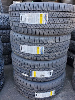 TIRES BRAND NEW GOOD YEAR EAGLE LS2 275 55R20 BRAND NEW $560 SET OF FOUR INSTALL MOUNT AND BALANCE BEST PRICE ON TOWN for Sale in Anaheim, CA