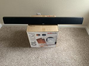Polk Audio SurroundBar 50 & PSW10 for Sale in Aurora, CO