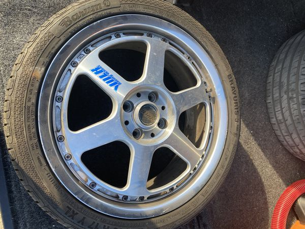 TE P wheels 17x7 +44