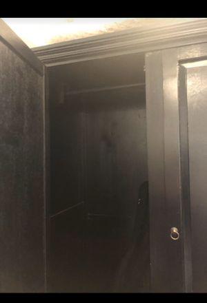 Armoire closet- Black for Sale in La Costa, CA