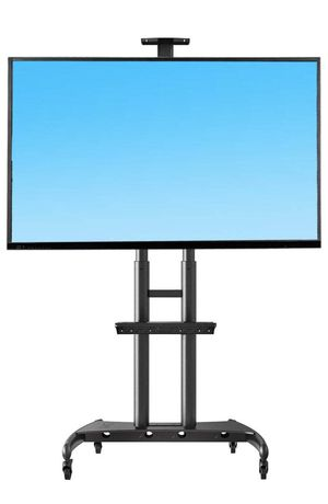 North Bayou Mobile TV Cart/Stand (Black, Brand New, In Box 📦) for Sale in Surprise, AZ