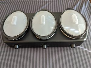 Triple cooker crock pot for Sale in Jacksonville, FL