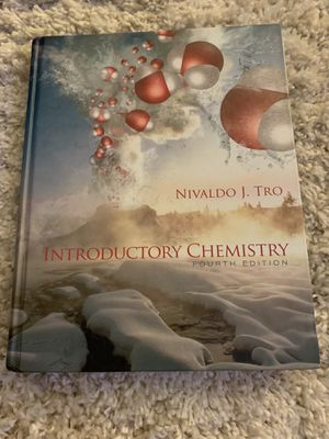 INTRODUCTORY OF CHEMISTRY -4th edition for Sale in San Bernardino, CA