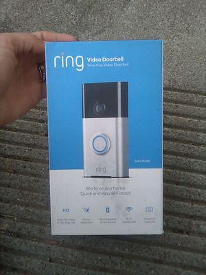 Ring video doorbell camera for Sale in Beaumont, CA