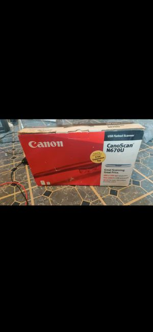 Canon- CanoScan N670u for Sale in DORCHESTR CTR, MA