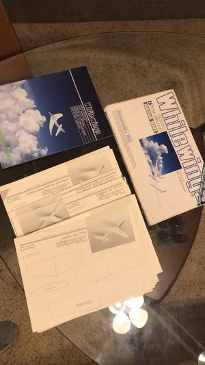Whitewings 1980s paper airplane set for Sale in Austin, TX
