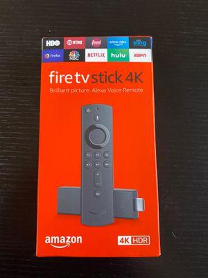 Amazon fire tv stick 4K firestick for Sale in Seattle, WA