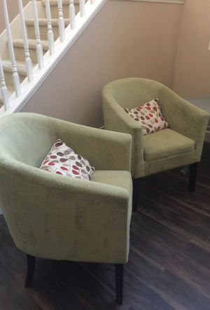 2 Beautiful tub chairs/ accent chairs for Sale in Beach Haven, NJ