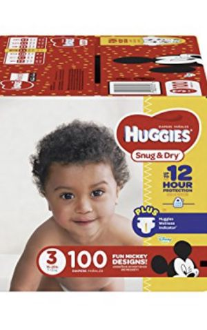Size 3 Huggies for Sale in Las Vegas, NV