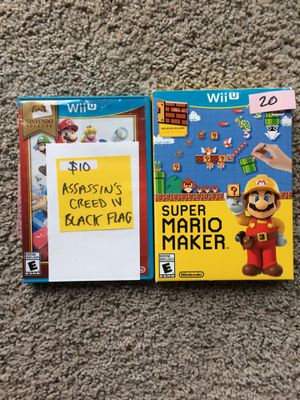 Wii U Games for Sale in Covington, WA