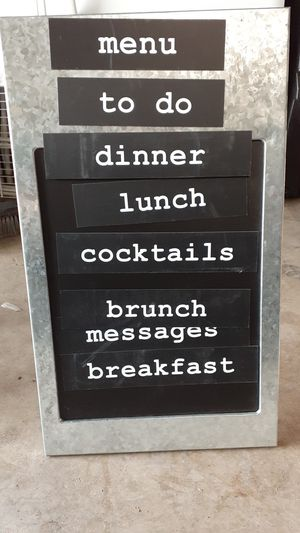 Magnetic sign chalk board for Sale in Sacramento, CA