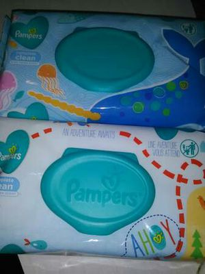 Pampers wipes* $1.50 a pk. for Sale in Toledo, OH