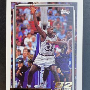 1992 Shaquille O'Neal Topps Rookie RC Shaq Gold for Sale in Houston, TX