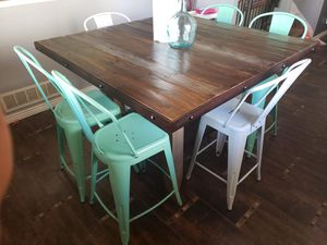 Dining table with 6 chairs for Sale in Denver, CO