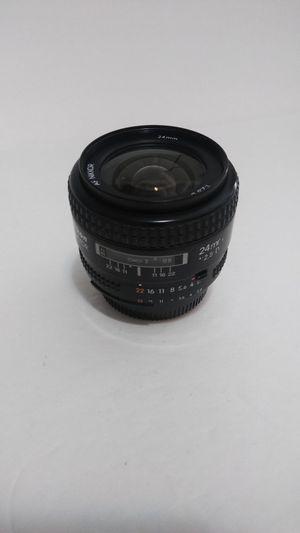 Nikon 24mm f/2.0 af Wide D lens. Very Sharp, Low Distortion. for Sale in Fort Lauderdale, FL