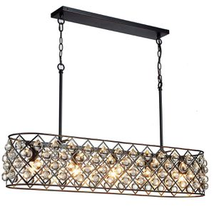 """43"""" Antique Bronze Frame with Crystal Glass Raindrop Chandelier For Kitchen or Dining Room for Sale in Henderson, NV"""