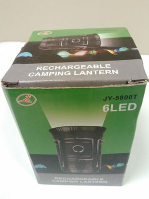6LED Rechargeable camping lantern for Sale in Falls Church, VA