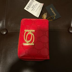 BeBe Red Compact Wallet for Sale in Richmond, VA