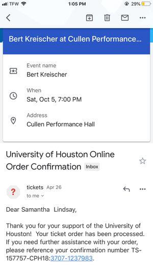 Bert Kreischer Tickets for Sale in Port Arthur, TX