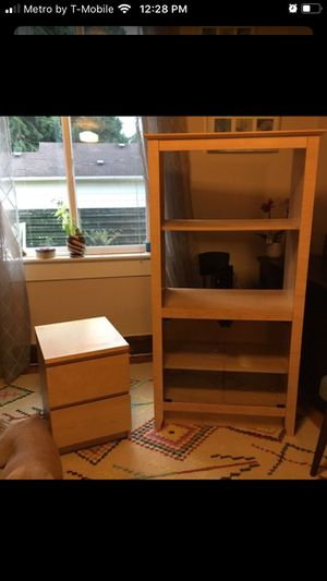 Bookcase storage and dresser for Sale in Seattle, WA