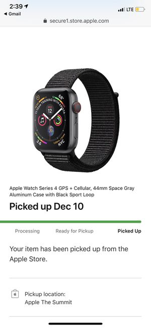 Apple Watch series 4 GPS + Cellular 44mm for Sale in Houston, TX
