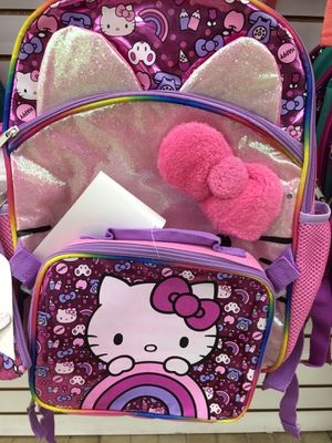 Hello Kitty Backpack and lunch pail for Sale in Fontana, CA