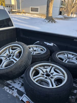 M3 wheels and tires for Sale in Oak Grove, MO