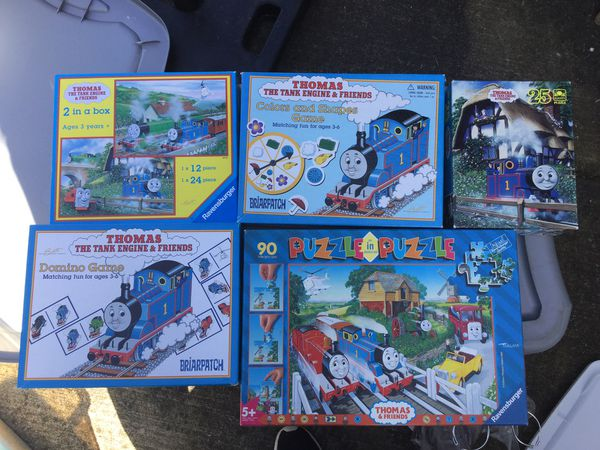 Thomas the tank engine games and puzzles