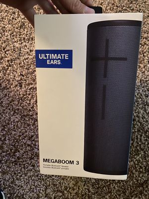 UE megaboom 3 brand new still in box for Sale in Chattanooga, TN