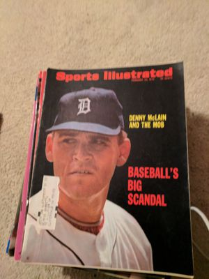 1970 sports illustrated Denny McLain for Sale in Corinth, ME