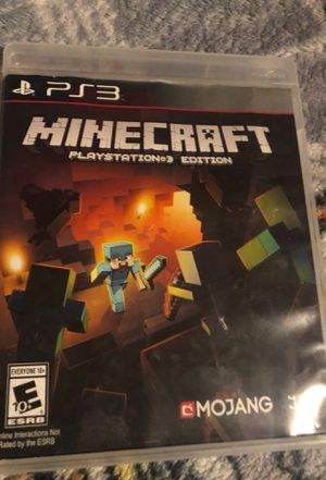 Minecraft PS3 for Sale in Kenmore, WA