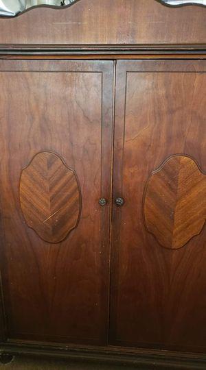 Wooden wardrobe for Sale in Aspen Hill, MD
