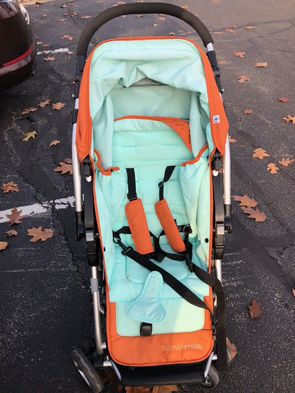 Bumbleride stroller - takes on infant car seat