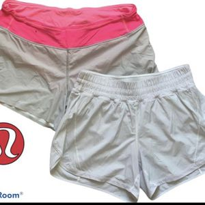 Two pairs Lululemon Running Shorts Size 10 for Sale in Austin, TX