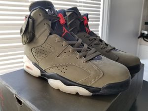 Jordan VI 6 Retro Travis Scott Size 10 $450 OBO for Sale in Los Angeles, CA