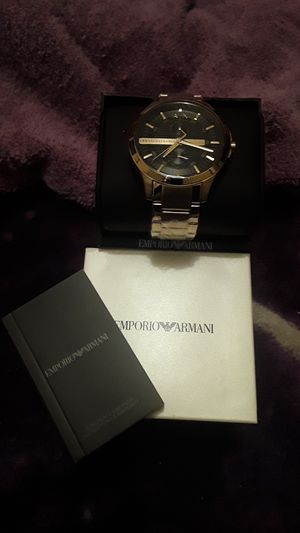EMPORIO ARMANI MENs Watch for Sale in Upland, CA