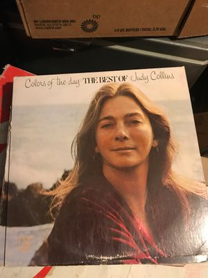 Record vinyl Judy Collins the best of colors of the day for Sale in Rialto, CA