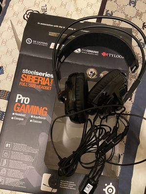 Steelseries Siberia V2 Gaming Headset Black for Sale in Chicago, IL