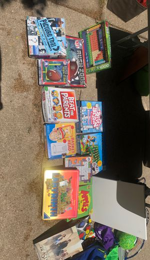 Various board games for Sale in Overland Park, KS