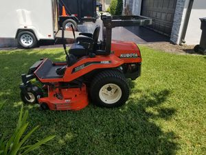 Ultima trailer year 2019 6×10 for $4400.00 plus 2002Kubota zd20 diesel 0turn 60inch for 8,000.00 with 425 hours , better offer for Sale in Miami, FL