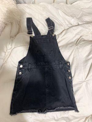 Overall denim dress for Sale in Garden Grove, CA