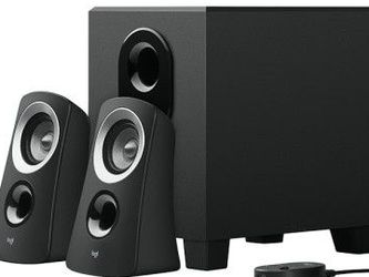 Logitech Z313 Sound Speaker System - Subwoofer for Sale in San Jose,  CA