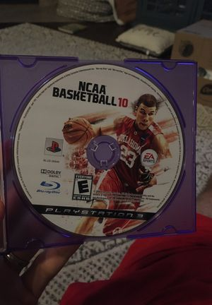 NCAA Basketball 10, for PS3 for Sale in Newcastle, OK