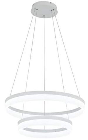 ROYAL PEARL LED Pendant Light Modern Chandelier 5400lm 60W Flush Mount Pendant Lamp for Living Room Bedroom Office, 6000k for Sale in Diamond Bar, CA