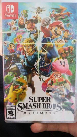 Super Smash Bros Ultimate for Sale in Poinciana, FL