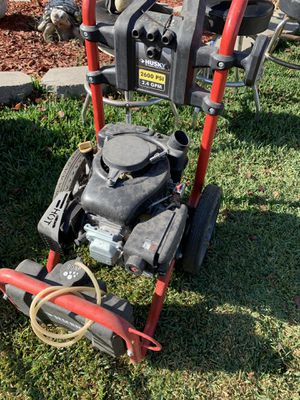 Husky pressure washer $65 machine only for Sale in Norwalk, CA