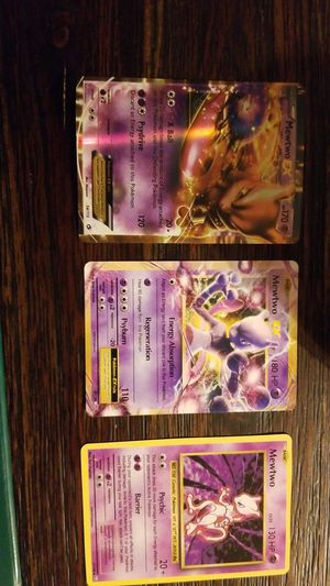 Mewtwo pokemon cards. for Sale in Hanover Park, IL